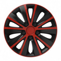 Puklice 14 RAPIDE red and black