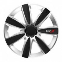Puklice 14 GTX CARBON silver/black