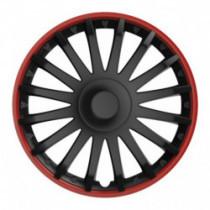 Puklice 15 CRYSTAL RO black