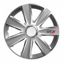 Puklice 15 GTX CARBON silver