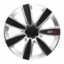 Puklice 16 GTX CARBON silver/black