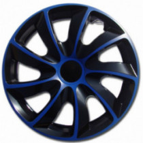 Puklice 16 palcové modro-čierne