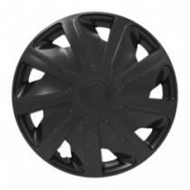 Puklice pre dodávky 15 Craft black