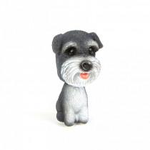 Dekorácia pes s kývajúcou hlavou-Model 1