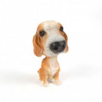 Dekorácia pes s kývajúcou hlavou-Model 2