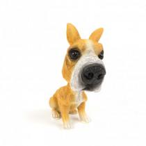 Dekorácia pes s kývajúcou hlavou-Model 3