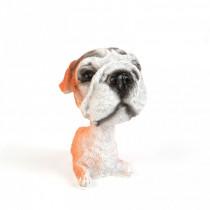 Dekorácia pes s kývajúcou hlavou-Model 4