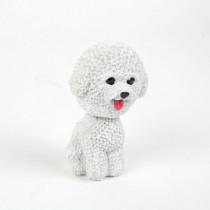 Dekorácia pes s kývajúcou hlavou-Model 5