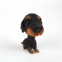 Dekorácia pes s kývajúcou hlavou-Model 7