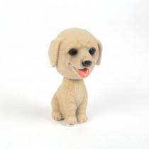 Dekorácia pes s kývajúcou hlavou-Model 9