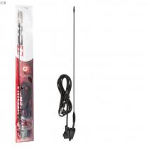 Anténa 41cm, 6mm, 3m kábel