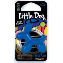 Little Dog New Car