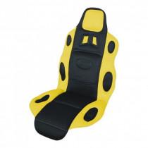 Auto poťah RACE čierno-žltý