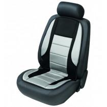 Poťah sedadla vyhrievaný čierno-šedý