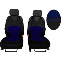 Autotričká Active Alcantara B modré (Koža-alcantara)